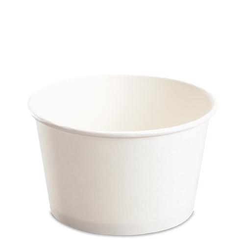 CCF 28OZ(D142MM) Paper Food Bucket (Hot/Cold Use) - White 600 Pieces/Case