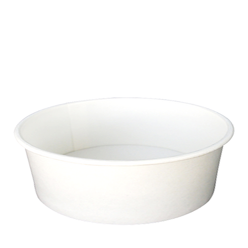 CCF 30OZ(D165MM) Paper Food Bucket (Hot/Cold Use) - White 600 Pieces/Case