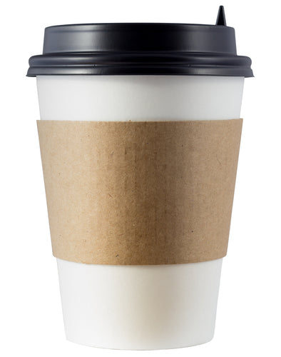 CCF Eco Friendly Drink Cup Kraft Paper Sleeve - Pieces/Case