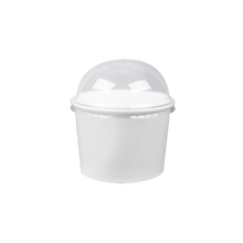 Load image into Gallery viewer, CCF 5OZ(D87MM) Ice Cream Paper Cup - White 1000 Pieces/Case