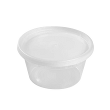 Load image into Gallery viewer, CCF 8OZ(D116MM) Premium PP Injection Plastic Deli Container - 240 Sets/Cases (Microwavable)