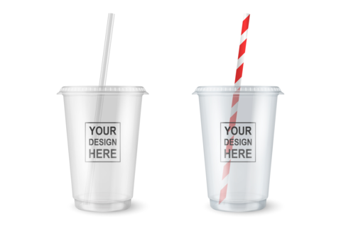 Custom Print PET Plastic Cold Cup