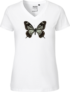 Benguetanus Swallowtail Women's V-neck Tee
