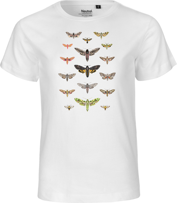 British Hawkmoths Kids Organic Fairtrade Tee