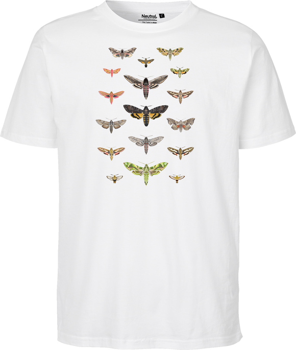 British Hawkmoths Unisex Regular Tee