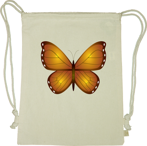 Butterfly Drawstring Gym Bag