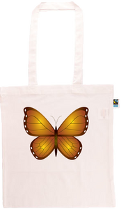 Butterfly Long Handle Shopping Bag