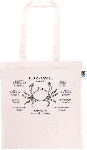 Crawl Long Handle Shopping Bag