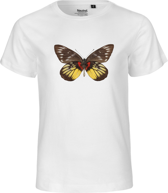Delias Butterfly Kids Organic Fairtrade Tee