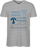 Go To The Mountains Men's V-neck Tee