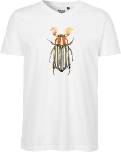 June Beetle Men's V-neck Tee