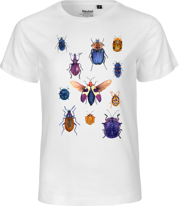 Purple Bugs Kids Organic Fairtrade Tee
