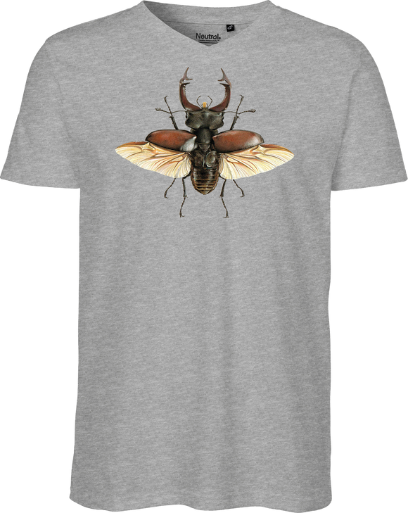 European Stag Beetle Men's V-neck Tee