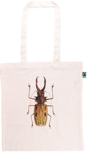 Macrodontia Longhorn Beetle Long Handle Shopping Bag