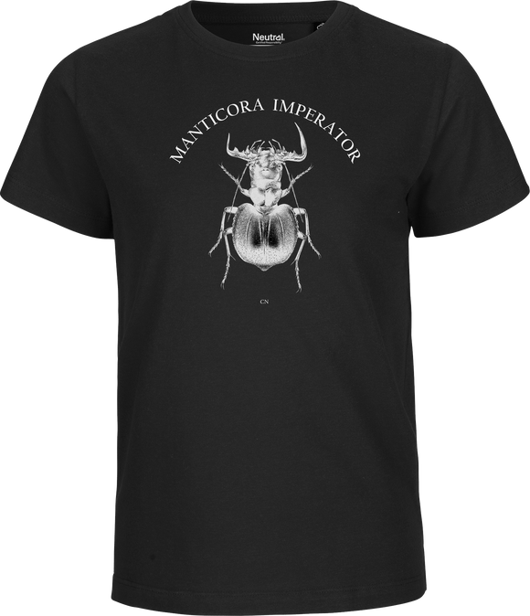 Manticora Beetle Kids Organic Fairtrade Tee