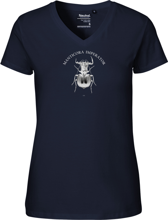 Manticora Beetle Women's V-neck Tee