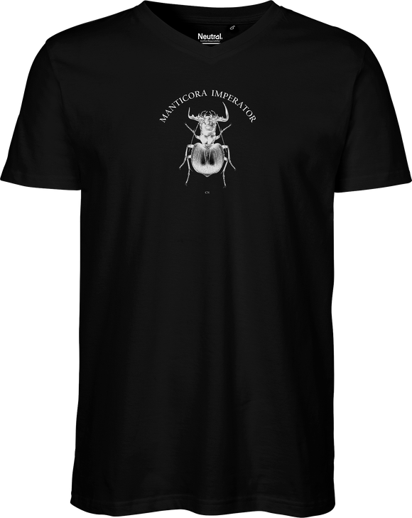 Manticora Beetle Men's V-neck Tee