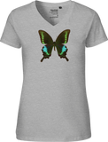 Polyctor Swallowtail Women's V-neck Tee