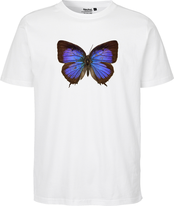 Arhopala Female Butterfly Unisex Regular Tee