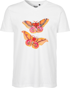 Saturnid Moth Men's V-neck Tee