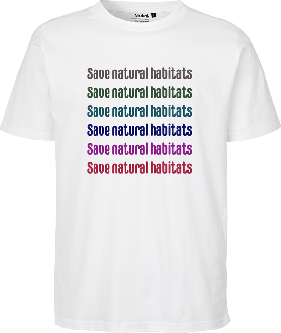 Save Habitats Unisex Regular Tee