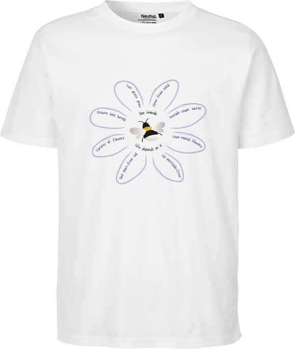 Save The Bees Unisex Regular Tee