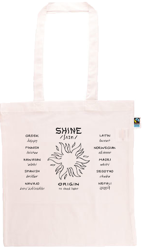 Shine Long Handle Shopping Bag