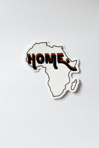 AFRICA HOME STICKER