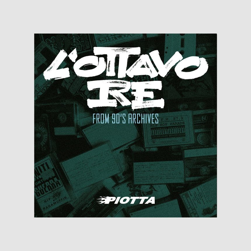 PIOTTA - L'OTTAVO RE LP