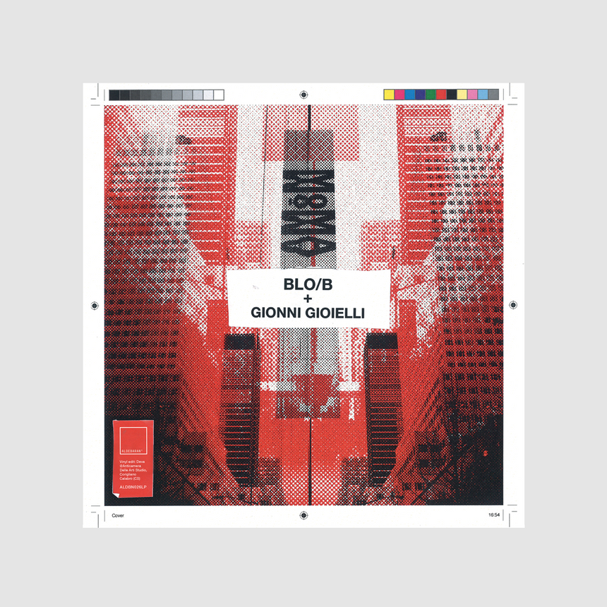 BLO/B & GIONNI GIOIELLI - MOMA LP CLEAR RED