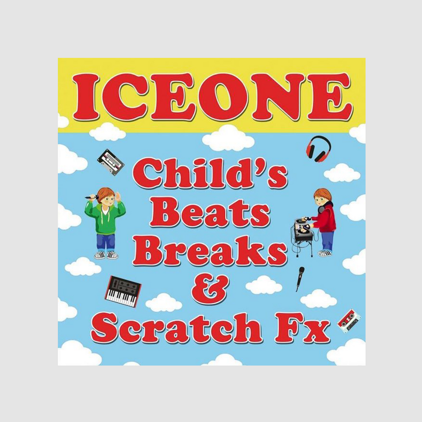 ICE ONE - CHILD'S BEATS, BREAKS & SCRATCHES LP