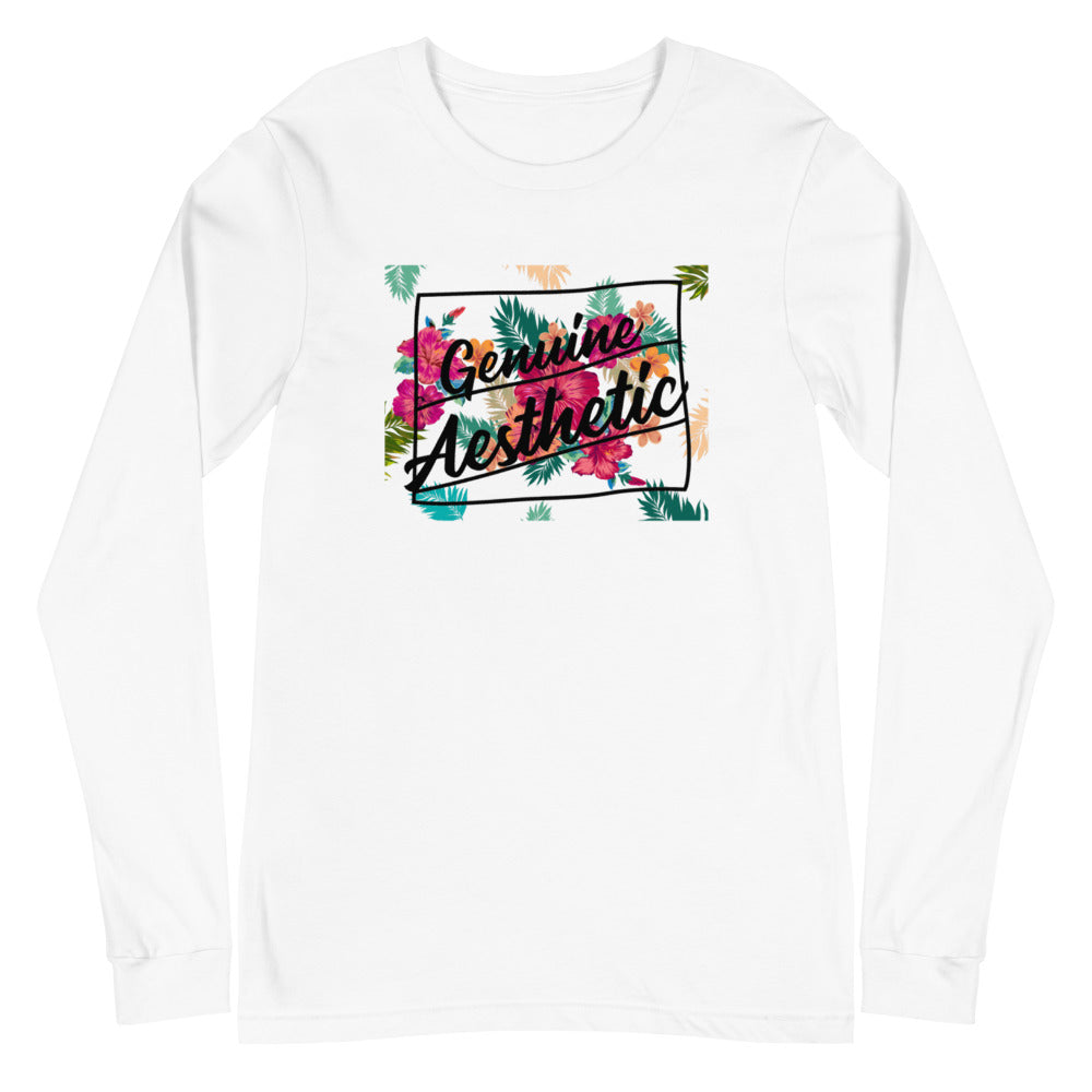 Limited Edition GA Floral Long-Sleeve - Genuine Aesthetic