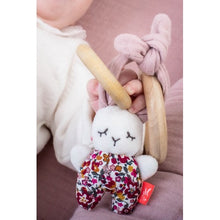 Load image into Gallery viewer, Kikadu Rabbit Girl with Teether.