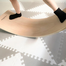 Load image into Gallery viewer, Equilibrio Wooden Balance Board.