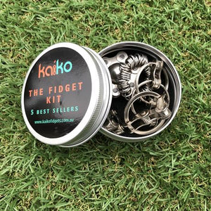 """ The Fidget Kit "" - one of Kaiko's best sellers."