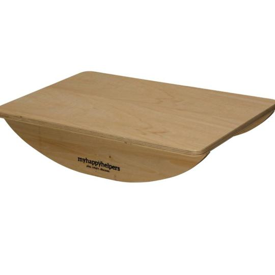 Small Wooden Rocker Balance Board.