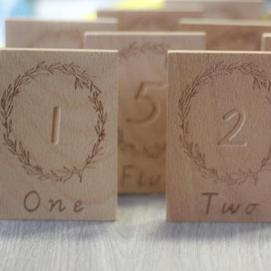 Number Blocks 1-12.