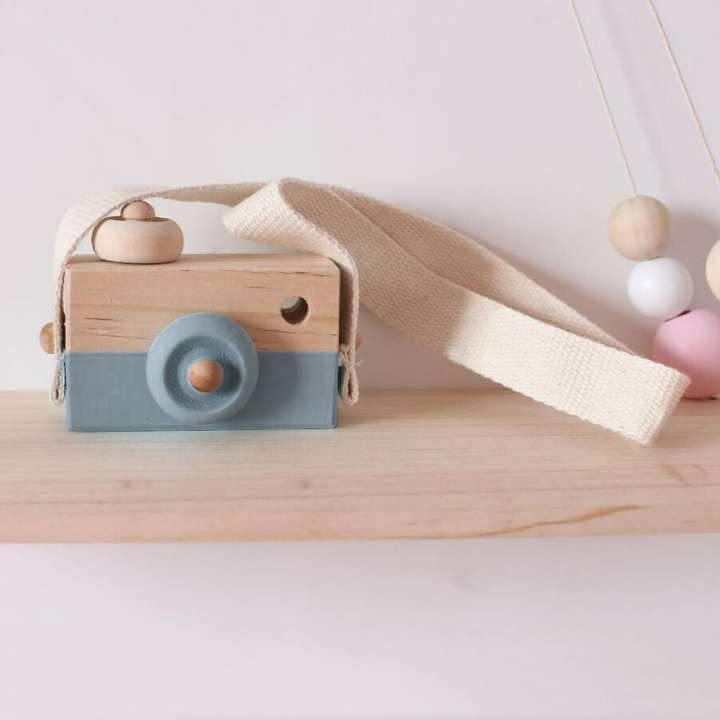 Wooden Play  Camera.