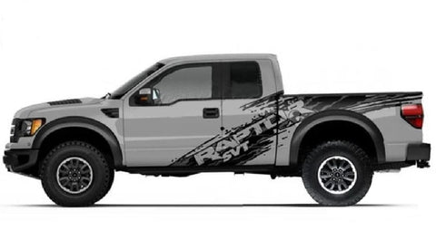 Image of ford f150 raptor stickers
