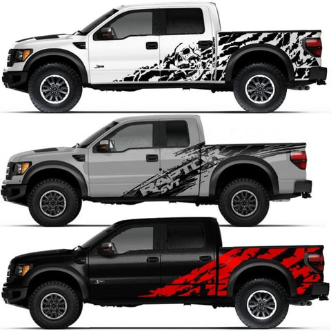 ford f150 raptor stickers