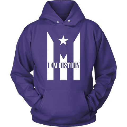 Image of Jacket with Hoodie Puerto Rico I AM HISTORY