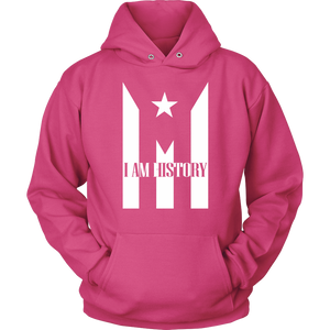 Jacket with Hoodie Puerto Rico I AM HISTORY