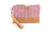 Zip Purse with Handle - Berry Red