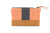 Zip Purse Mini - Blue/Orange