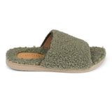 LL7133 Lovelies Santi lounge slippers fur forst green
