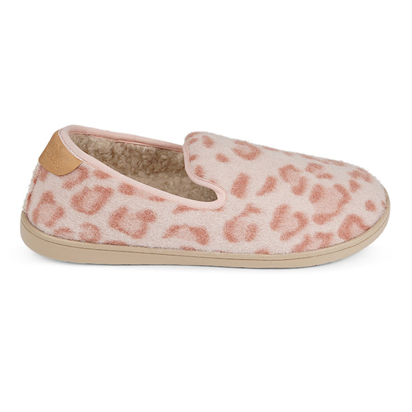 LL8503 Lovelies candi lounge slippers leopard canyon rose fur