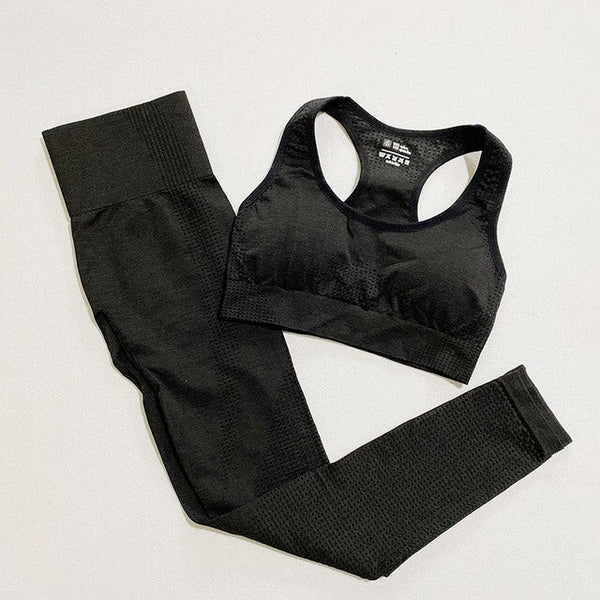 Comfy Yoga Workout Set - Yoga Blush