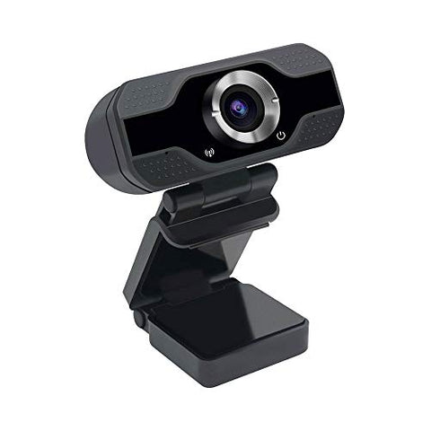 VeeDee 1080P Webcam with Microphone, USB 2.0 Desktop Laptop Computer Web Camera,2 Mega Pixels (CU3)