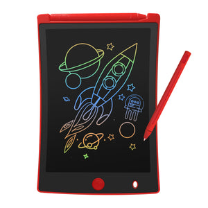 VeeDee Colorful LCD Writing Tablet, 8.5 Inch Multi-Color Electronic Drawing Pad Portable Handwriting Graphics Doodle Board for Kids