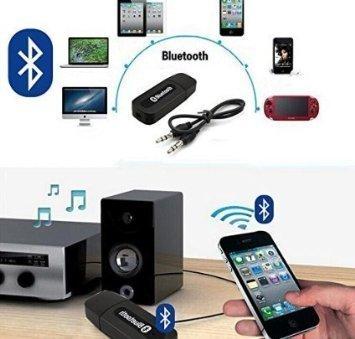 Generic Bluetooth Stereo Adapter Audio Receiver 3.5Mm Music Wireless Hifi Dongle Transmitter Usb Mp3 Speaker